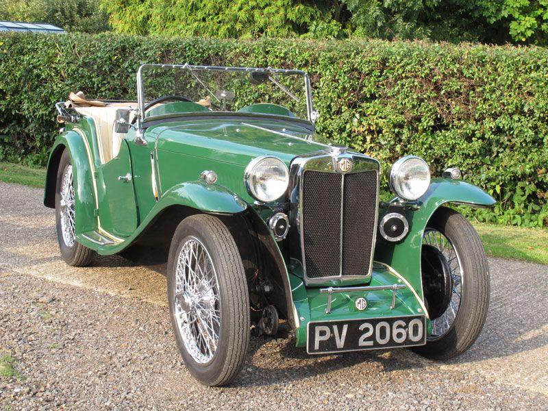 1935 MG PA Four-Seater | mg mmm | Pinterest | Cars