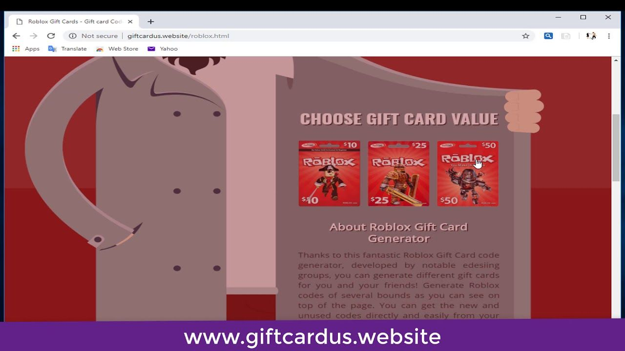 Get Free Robox Gift Card Roblox Gifts Gift Card Roblox