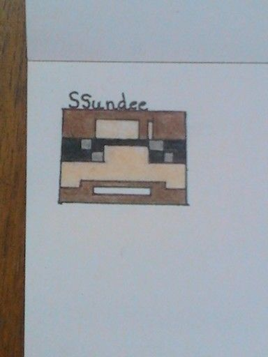 Art by: Elemental Artist Ssundee is a famous youtuber, and is a member of Teamcrafted for those who don't know. He mainly does videos having to do with Minecraft including survival series, mini games, ect. Art material used: Colored pencil, sharpie
