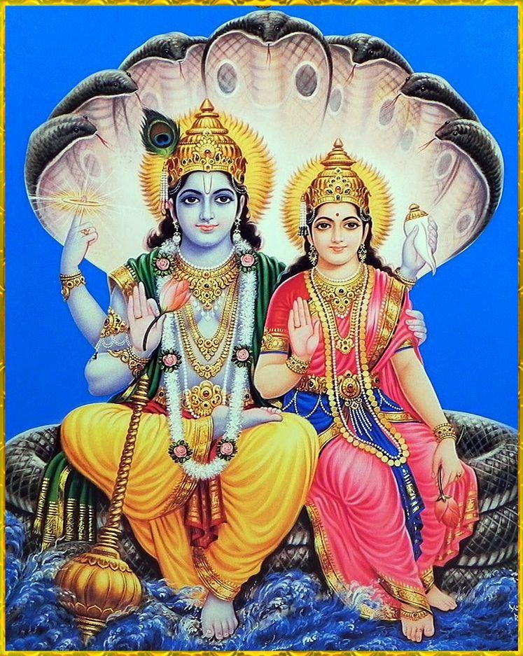 Lakshmi Narayana Vishnu Lord Vishnu Wallpapers Hindu Deities