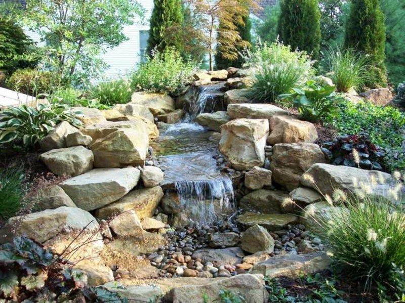 Backyard Backyard Water Feature, Backyard Ponds, Water Pond, Garden Water,  Water Gardens