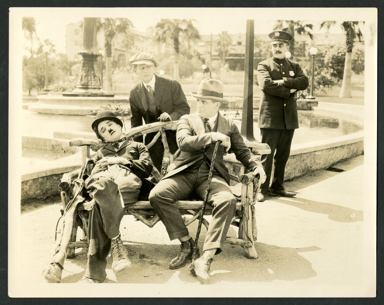 Charlie Chaplin Rex Stoney Al Ernest Garcia And Henry