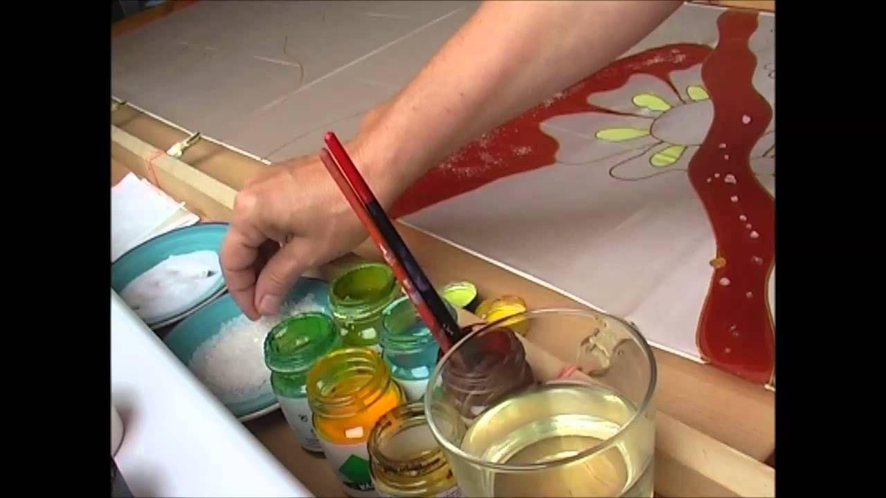 Maľovanie na hodváb / Painting on silk