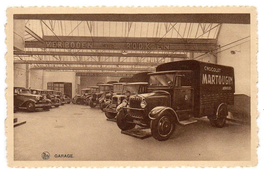 Minerva vrachtwagen martougin chocolade antwerpen a auto dealers garages gas stations - Garage mercedes belgique ...