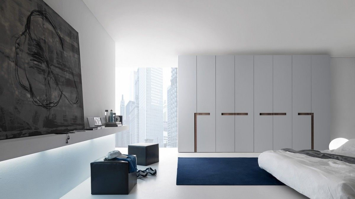 Clean lines - Storage ideas by Armadio Battente at Presotto ...