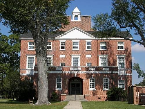 The Pender County Courthouse Located In Burgaw Nc