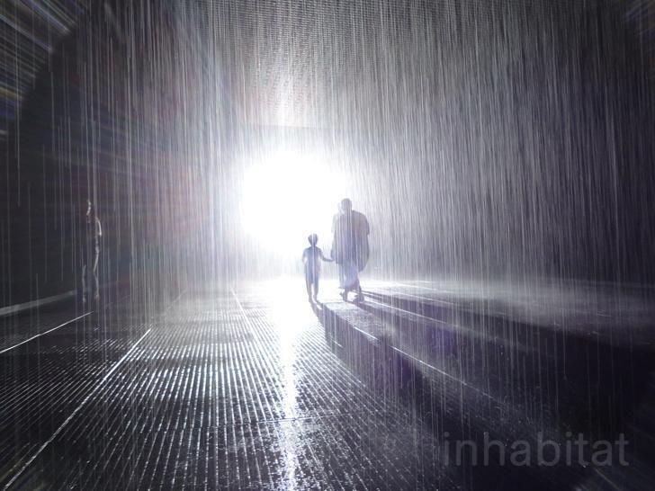 MoMa, NY - The raining room. Corriere della Sera