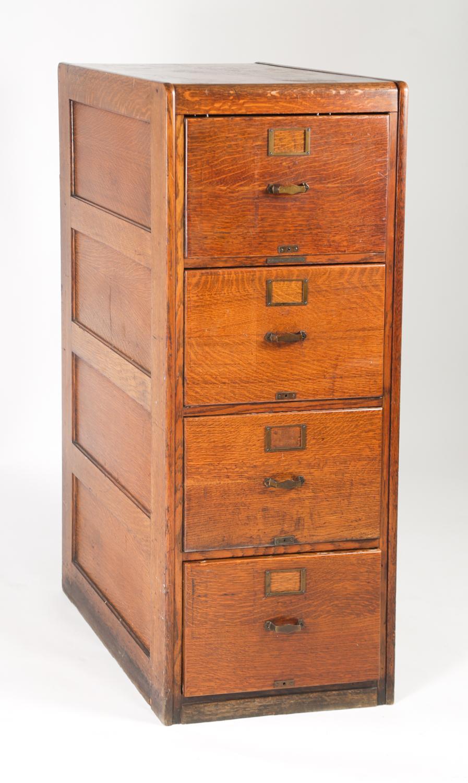 Library Bureau Sole Makers File Cabinet