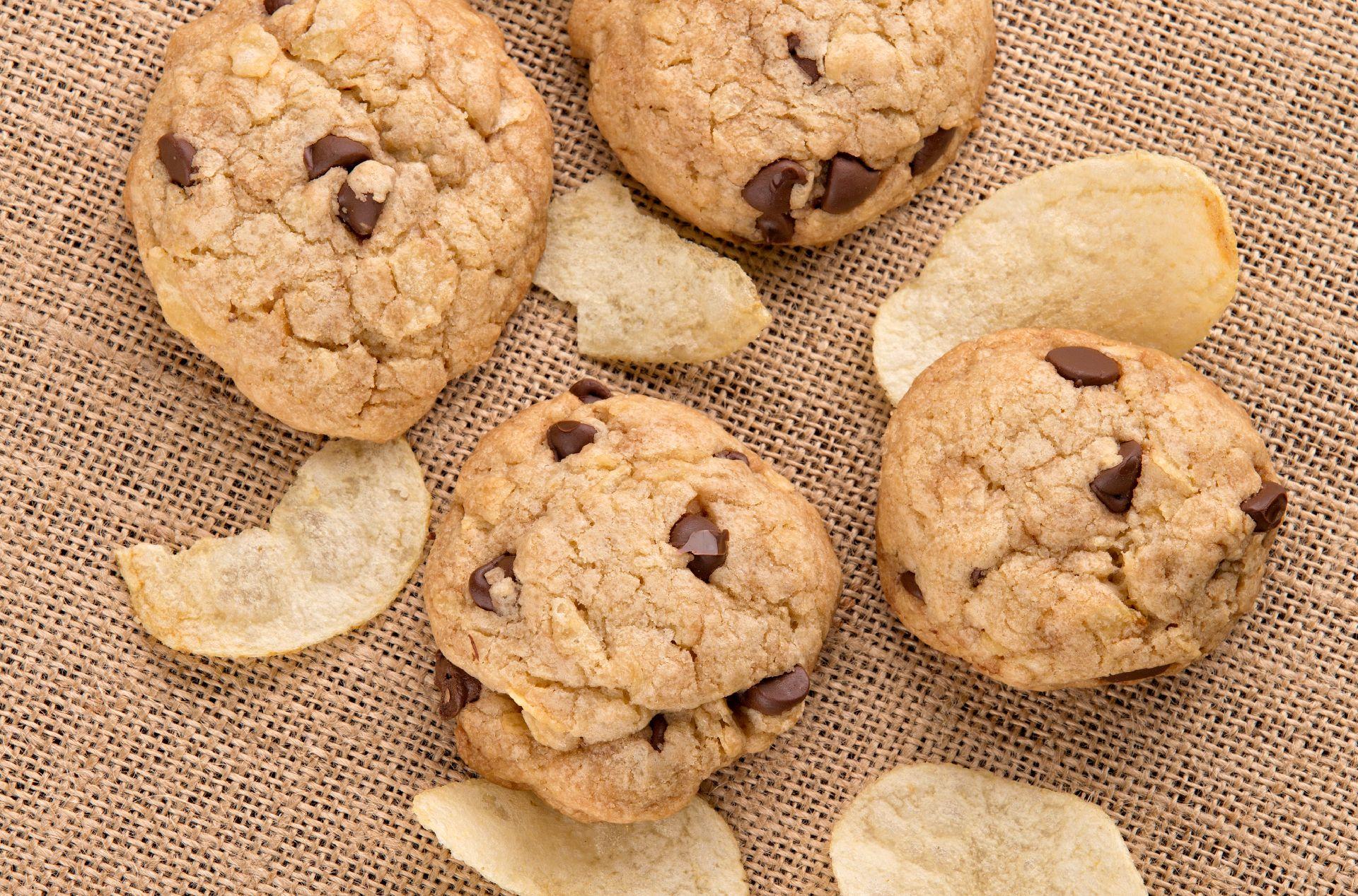 Potato Chip Chocolate Chip Cookies