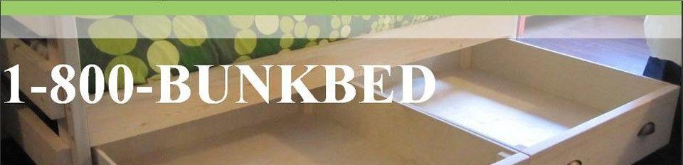 Bunk beds - custom solid wood - 1 800 bunkbeds