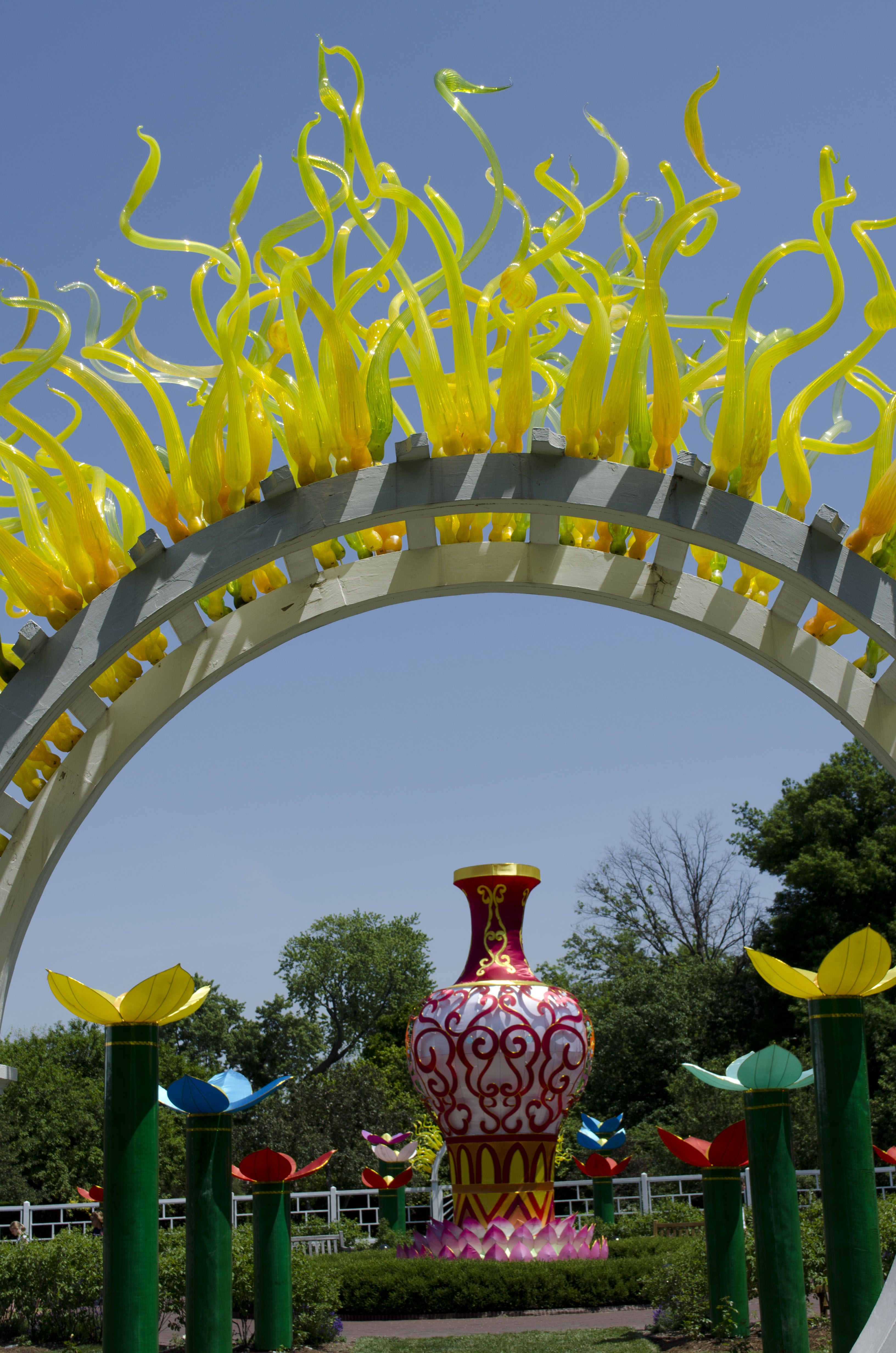 Decorating for the Lantern Festival! Photo by Cat Hendel