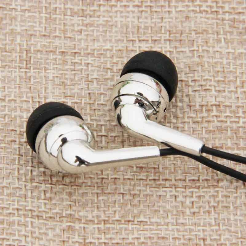 Universale 3.5mm Wired Cuffie In ear Noise Cancelling Auricolare Sport Correre per il Telefono Mobile PC Fone De Ouvido