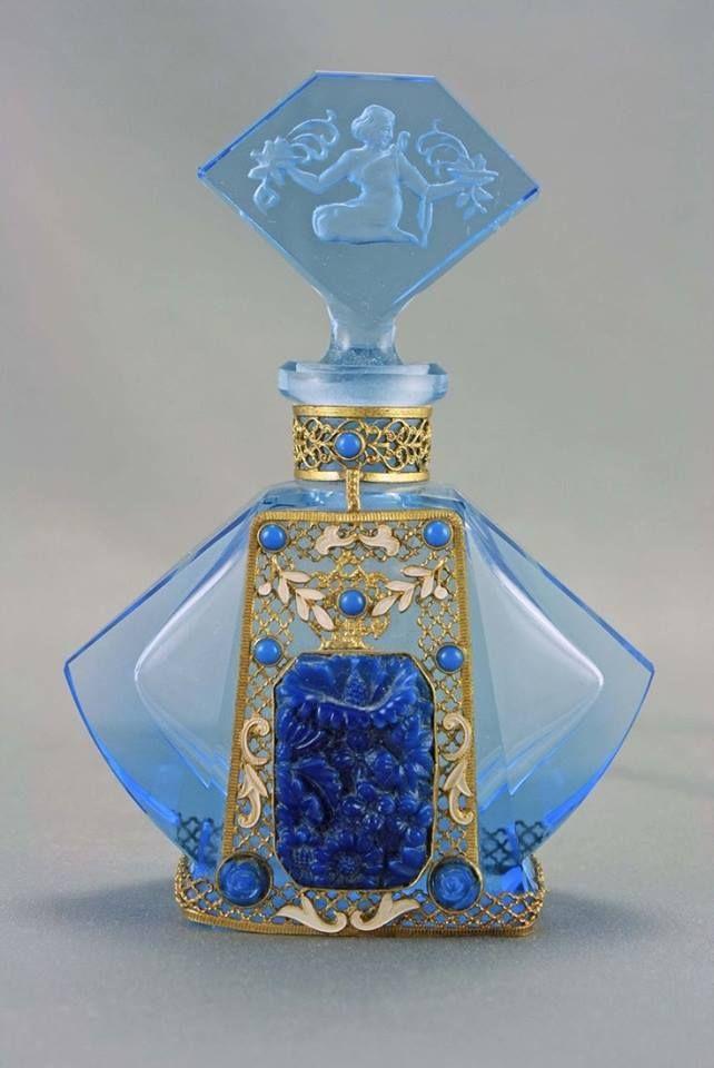 Art Deco ~ perfume bottle