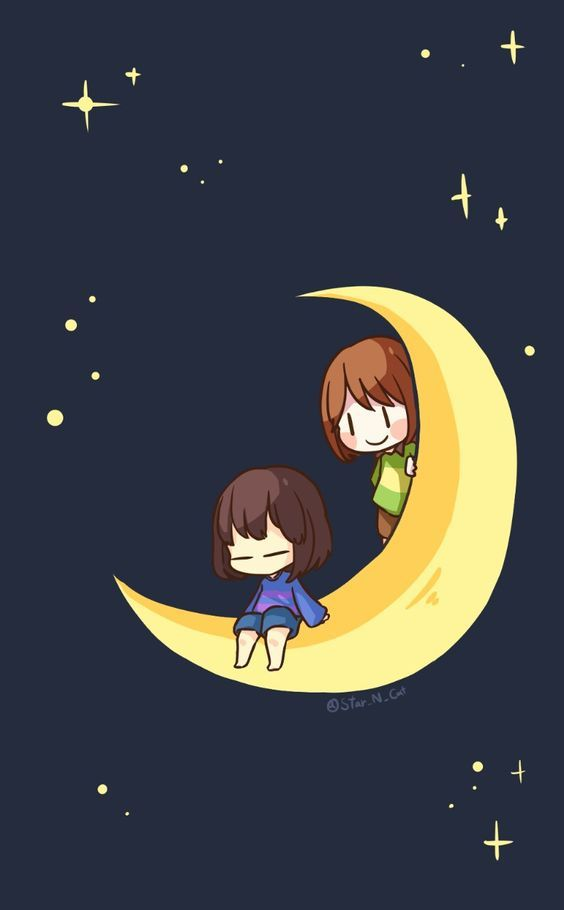 frisk and chara Undertale (Puns, puns, and more puns