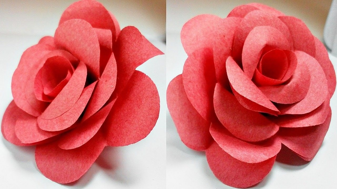 42+ Easy paper craft flowers information
