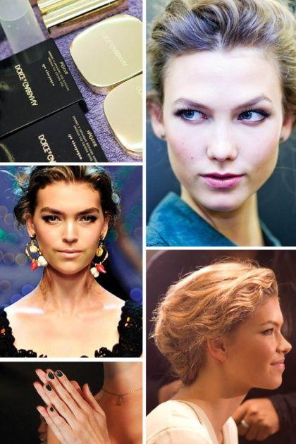 Beauty — Dolce & Gabbana Spring 2012