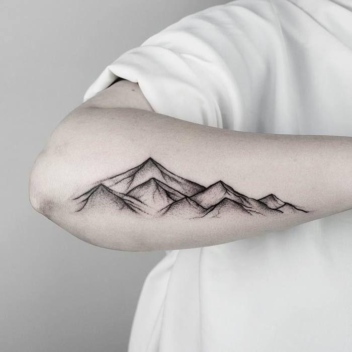 Photo of 46 herrliche Berg Tattoo Designs  #designs #herrliche #tattoo