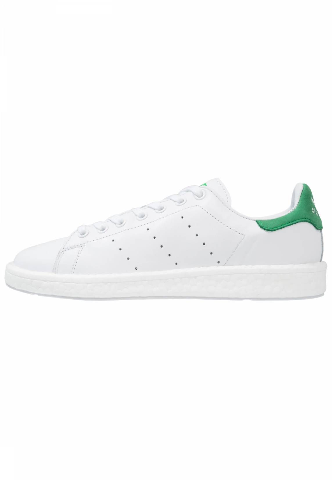 newest collection 27831 85c5d adidas Originals. STAN SMITH BOOST - Trainers - white green. Pattern Print