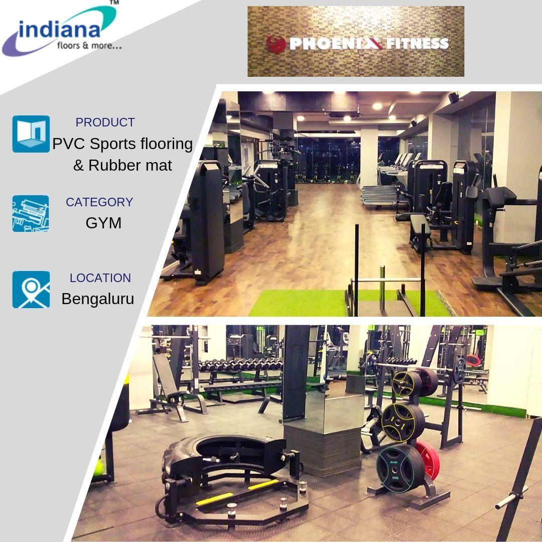 Project Phoenix Fitness Gym Bangalore Wooden Flooring Vinyl Flooring Flooring