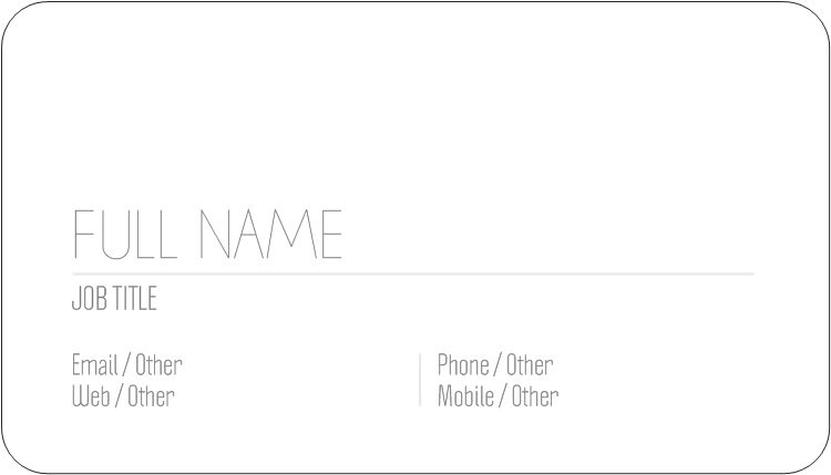 Rounded Corner Business Cards Rounded Edge Cards Vistaprint In 2021 How To Memorize Things Business Card Template Design Round Business Cards
