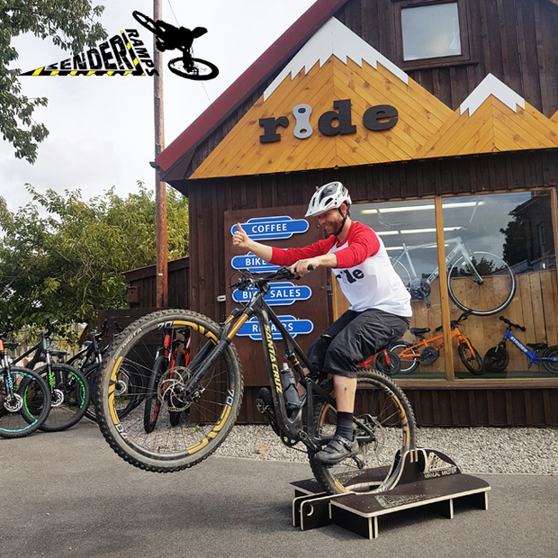 eb689361a6c Manual Machine, Mountain Bike Ramps, Bike stands for home club events –  Sender Ramps