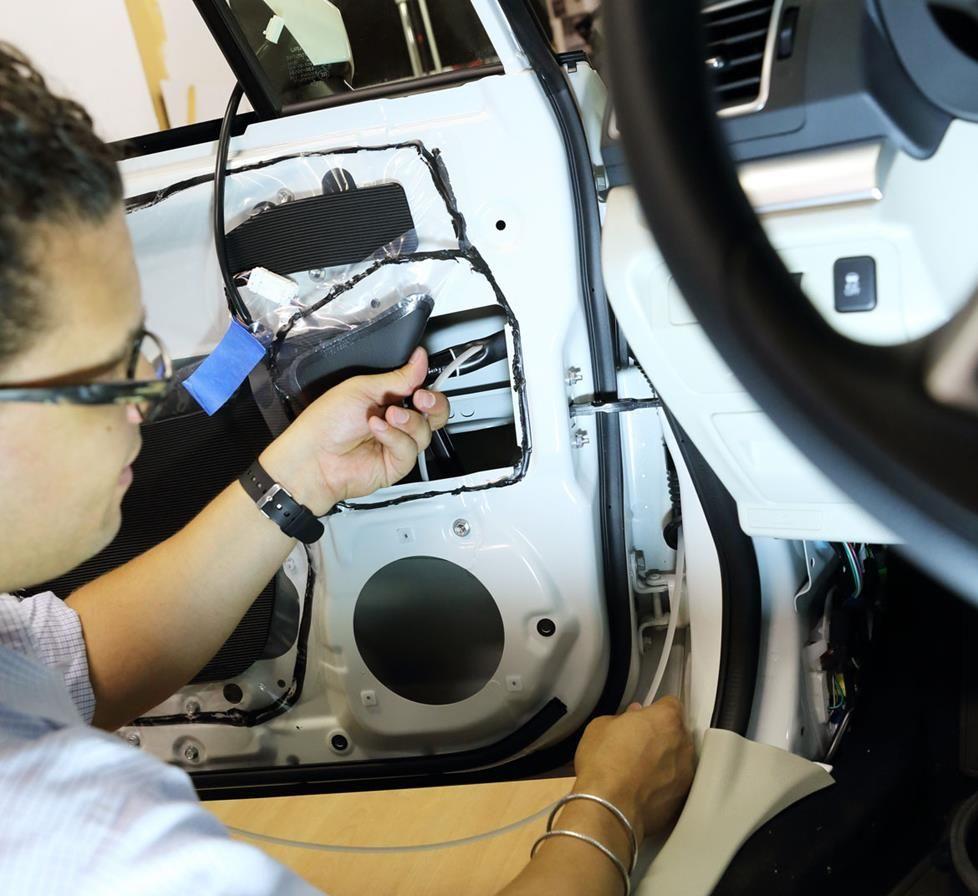 Upgrading the audio in a 2015 Subaru XV Crosstrek Car