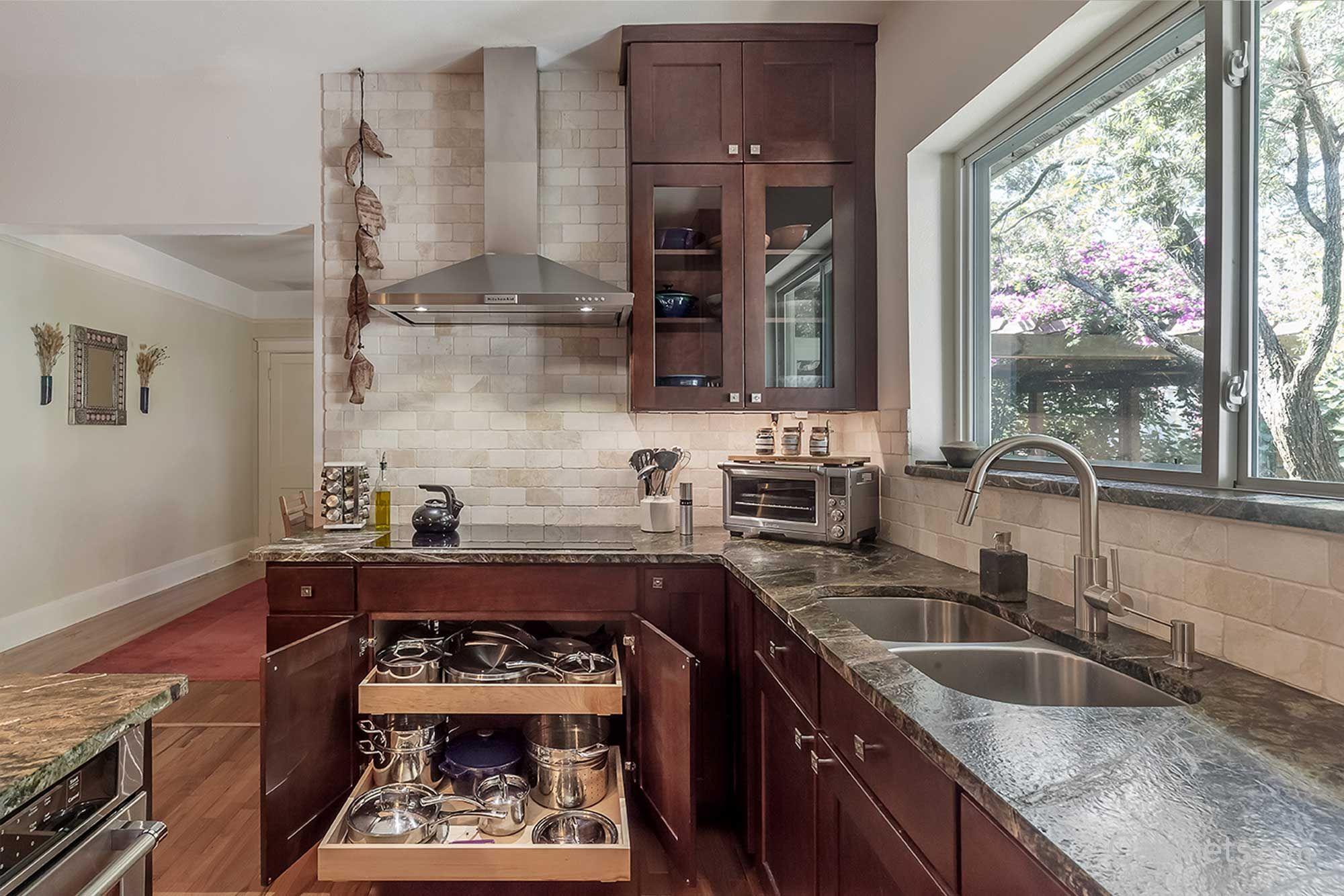 shaker cherry java kitchen design kitchen kitchen remodel on kitchen cabinets java id=64683