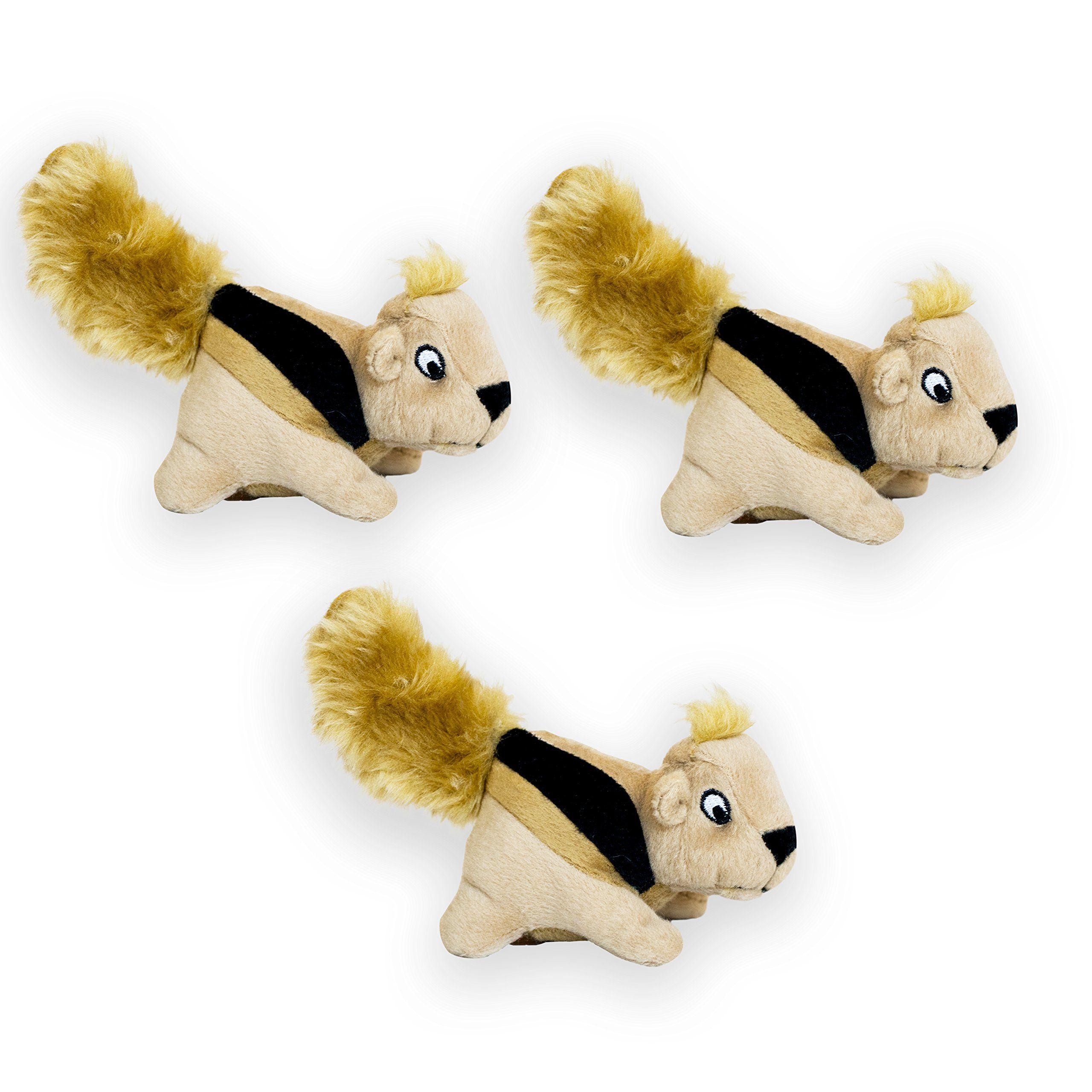Outward Hound Squeakina Animals Dog Squeak Toys Click Image
