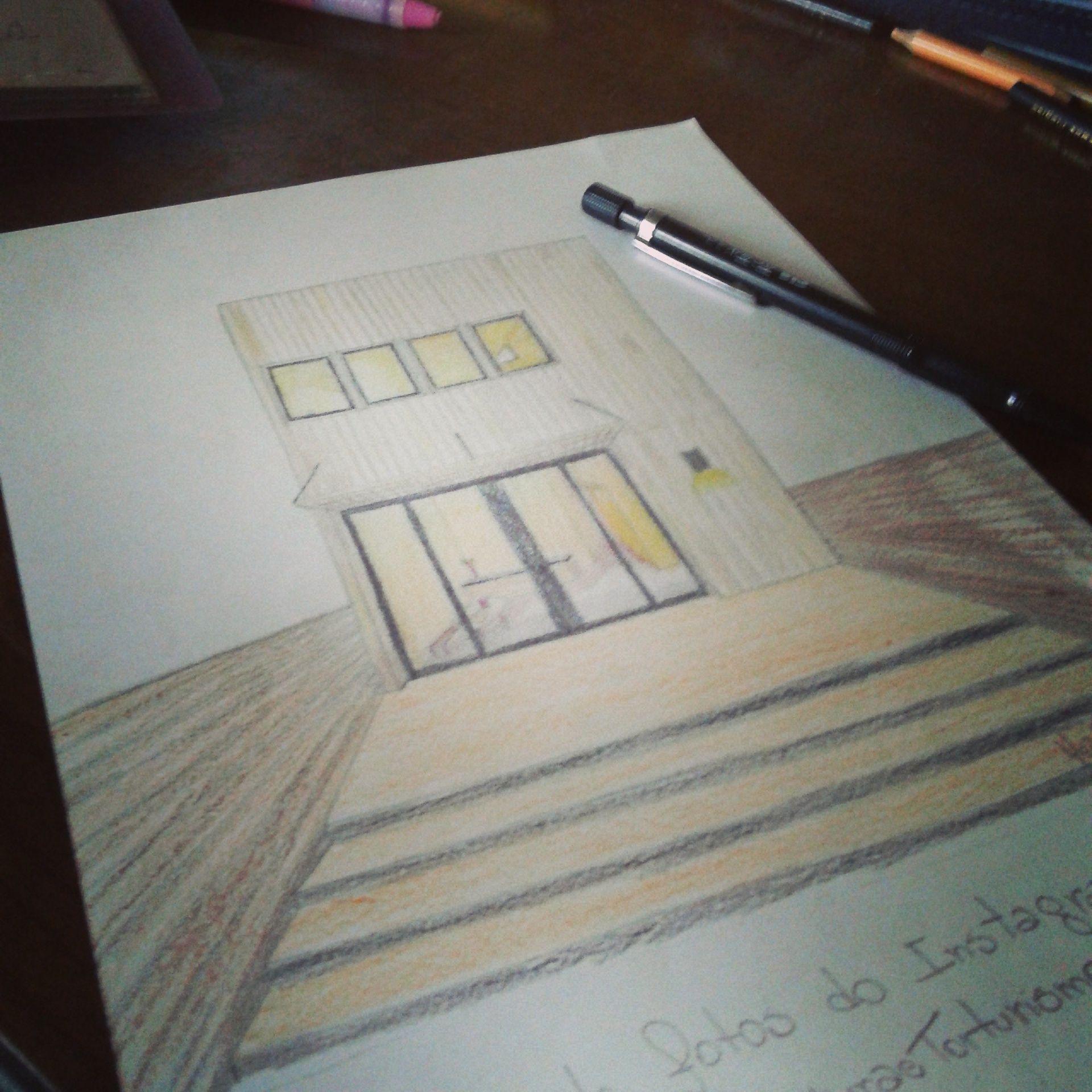 desenho de casas por HeidePi_Arki