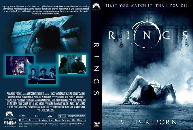 Rings (2017) DVD Custom Cover | Custom DVD Cover Designs ...