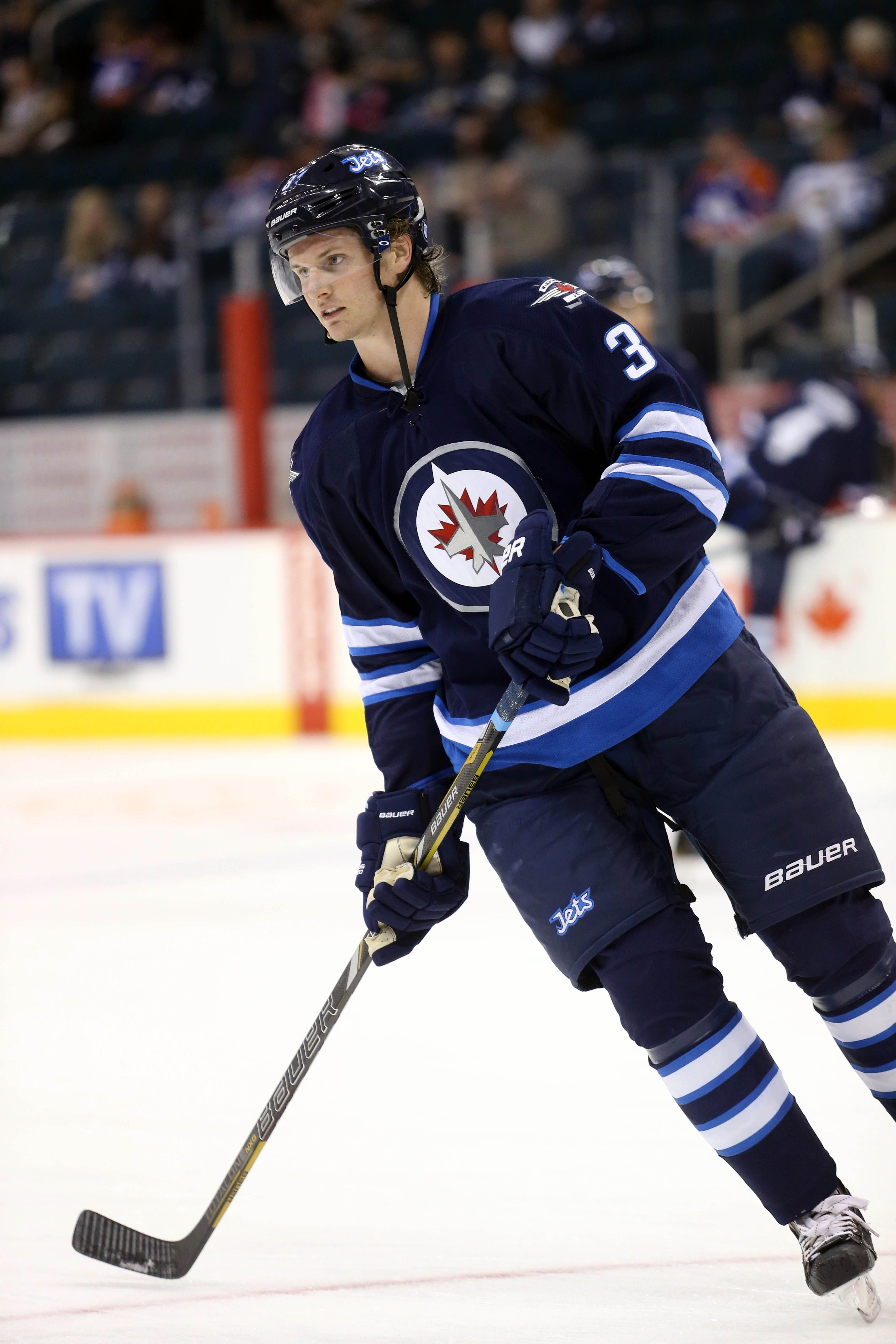 CrowdCam Hot Shot Winnipeg Jets defenseman Jacob Trouba