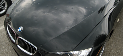 Paintless Dent Hail Damage Repair Service Denver Co Auto Repair Car Damaged Cars