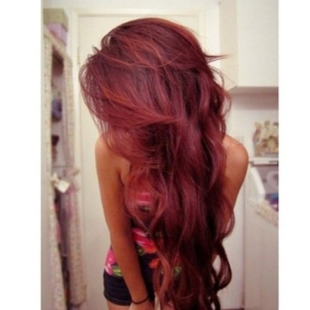 I love this red hair color really wanna color my hair like this