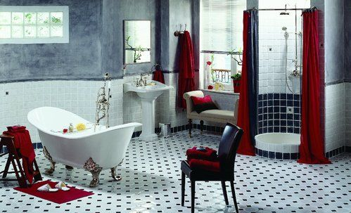Carrelage SDB salle bain Pinterest