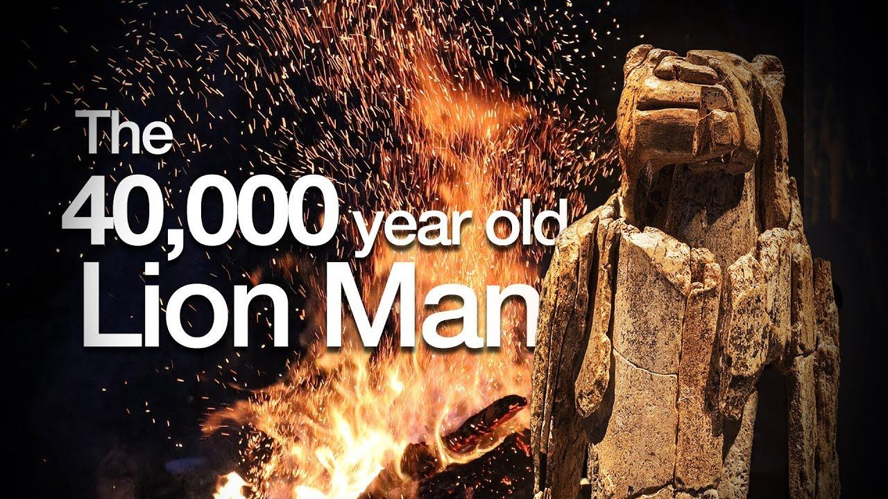 Living with gods the 40,000yearold Lion Man