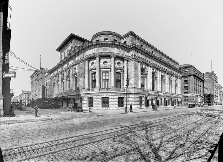 New Theatre New York City - 1910. The Century Theatre, originally the New Theatre, at W62nd Street and Central Park West. The theater was…