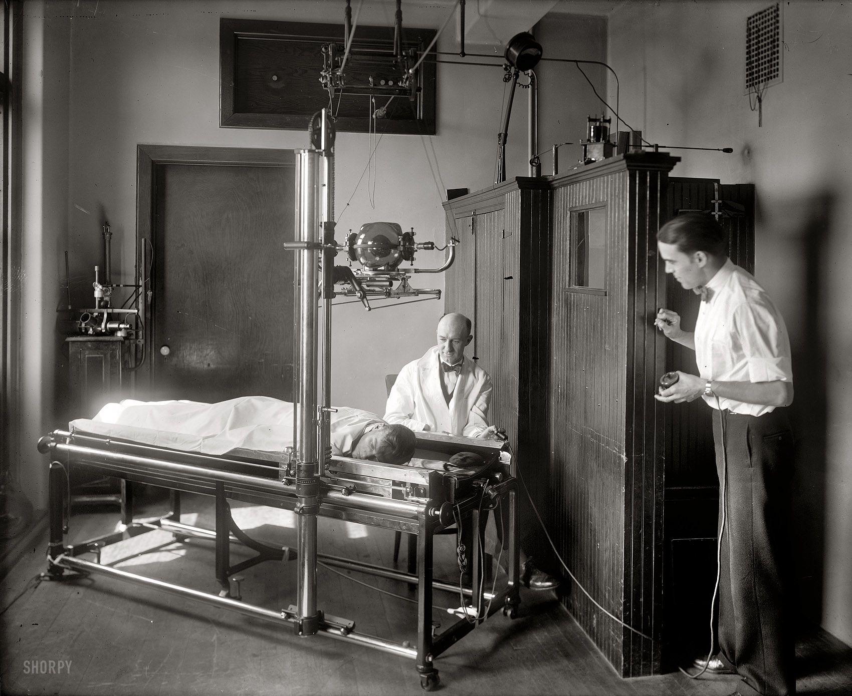 C 1920 Emergency Hospital Interior Washington D C