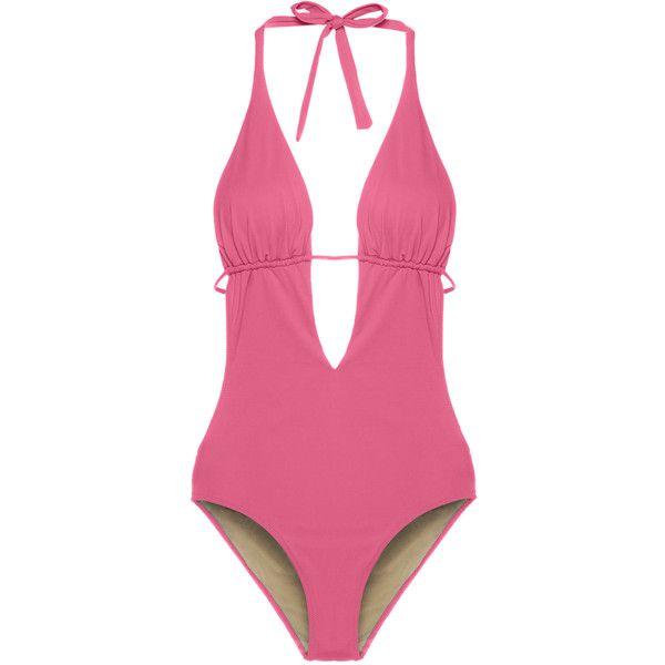 Pink see thru bikini — 10