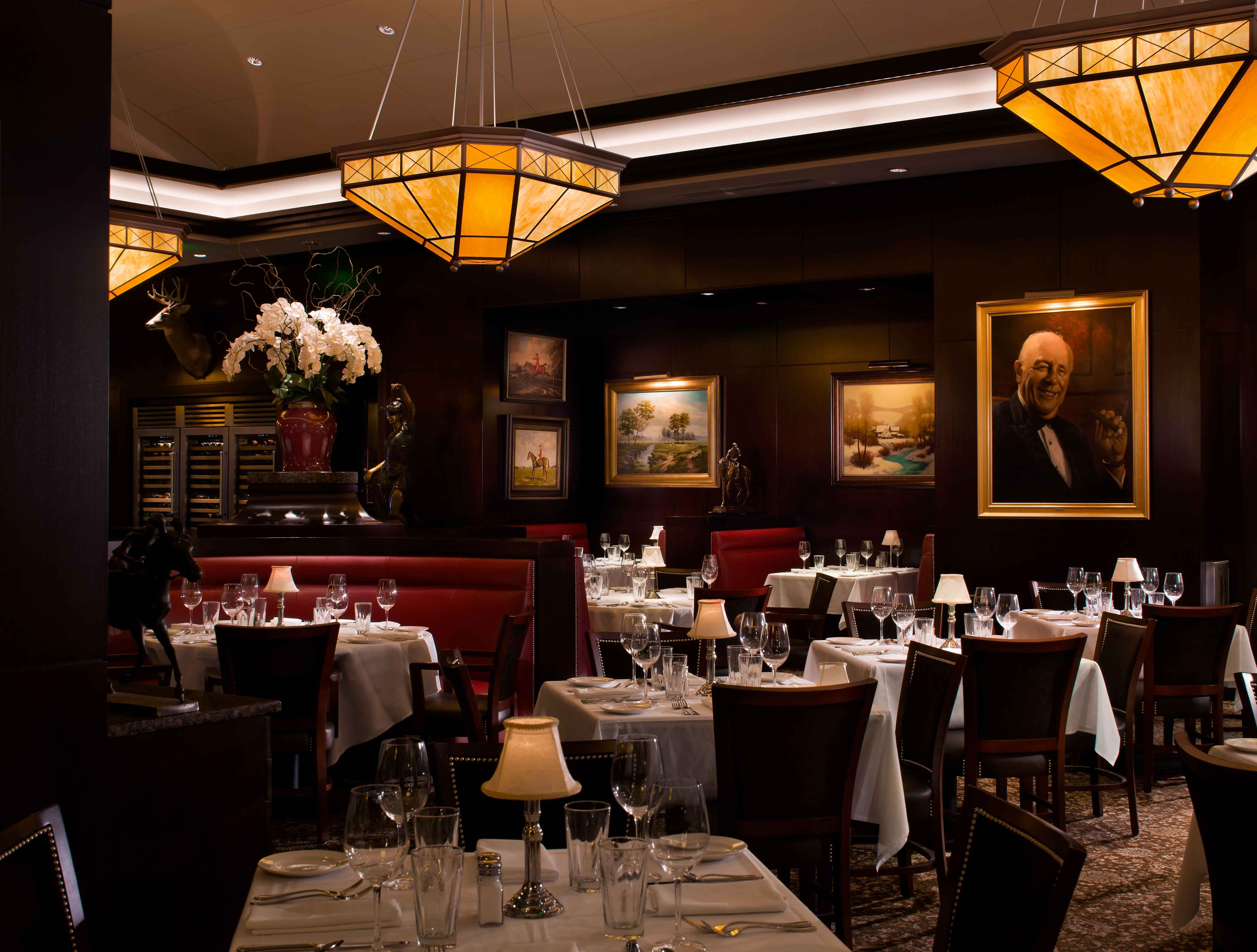 Of Boston From The Bar The Bar And Lounge The Capital Grille Amazing Private Dining Rooms Boston Review