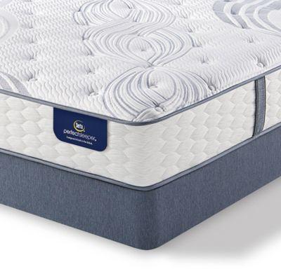 Serta Perfect Sleeper Lealake Luxury Firm Low Profile King