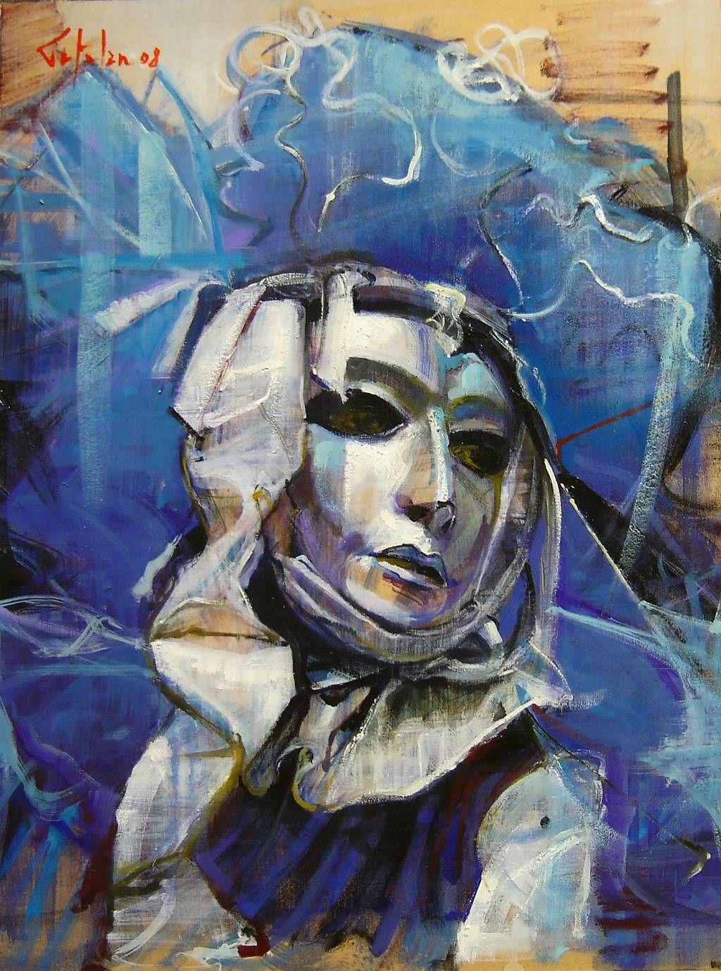 La Mascara Veneciana (serie)   MASCARAS VENECIANAS   Pinterest ...