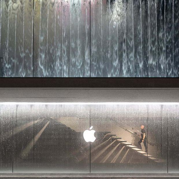 Il nuovo, sorprendente Apple Store ipogeo apre le porte a