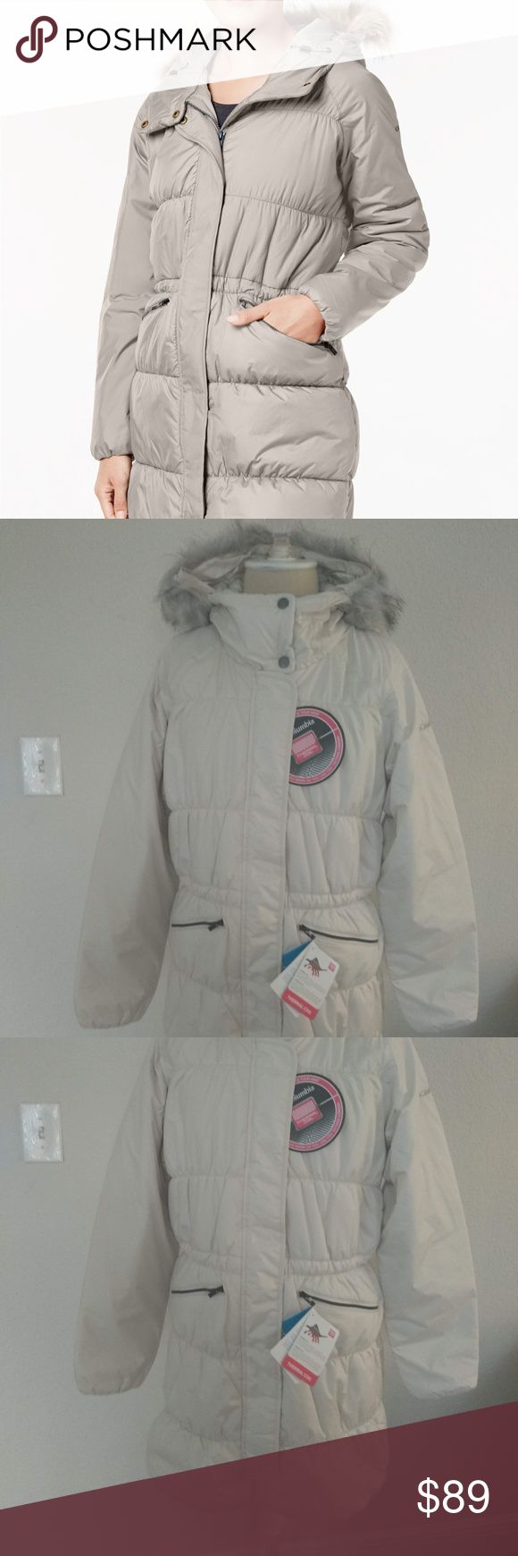 Columbia Sparks Lake-Trim Thermal Coil puffer sz S ...