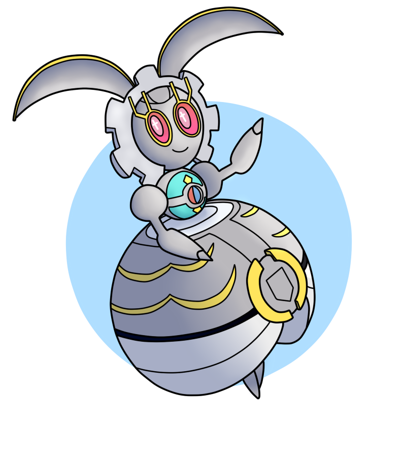 Magearna by Tails19950 on DeviantArt