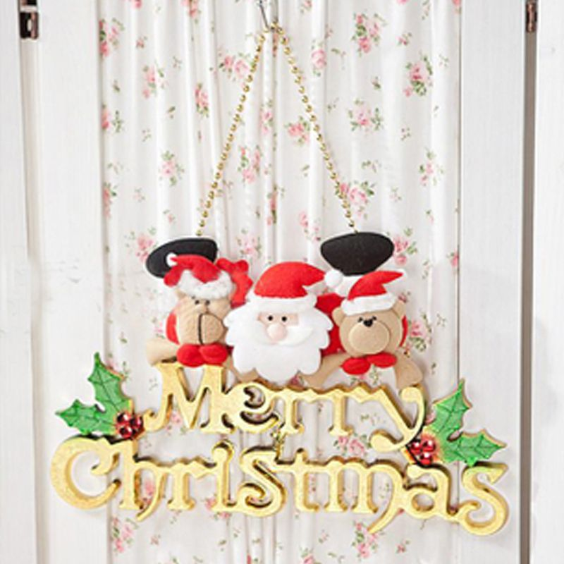 """Hot /""""Merry Christmas/"""" Ornaments Festival Party Christmas Tree Hanging Decoration"""
