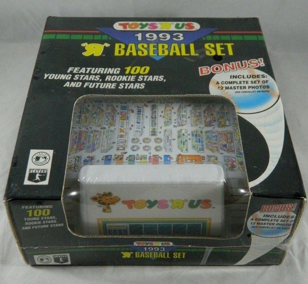 1993 topps toys r us baseball set factory sealed unopened