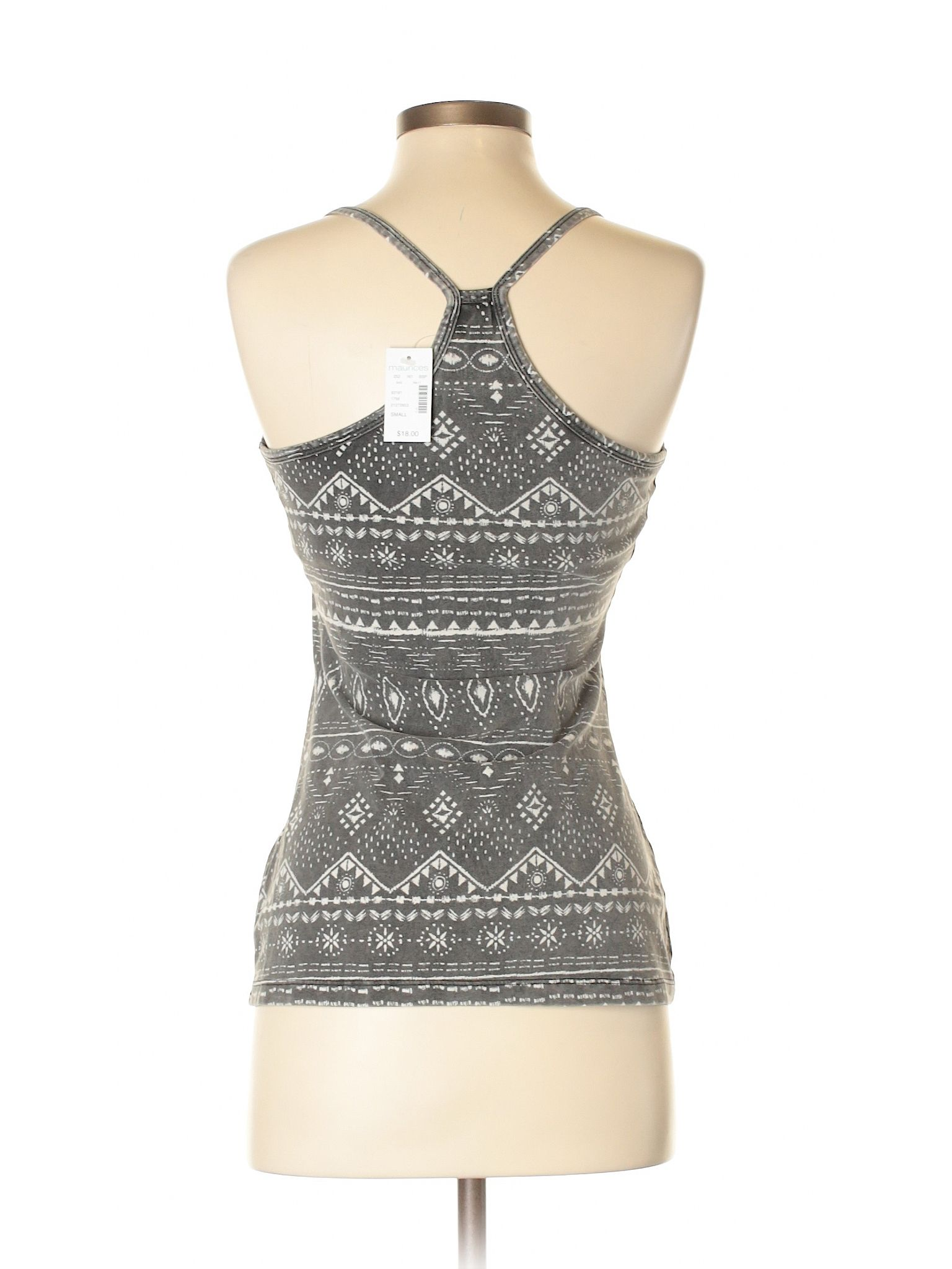 416af21470383c Maurices Tank Top  Size 4.00 Gray Women s Tops - New With Tags -  6.99