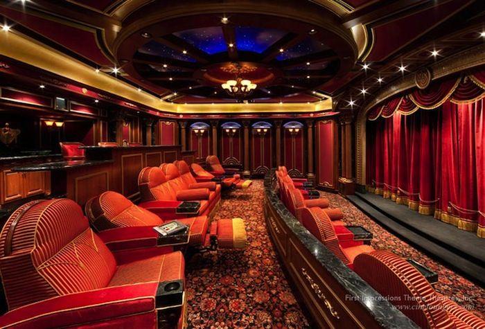 Elegant Million Dollar Home theater