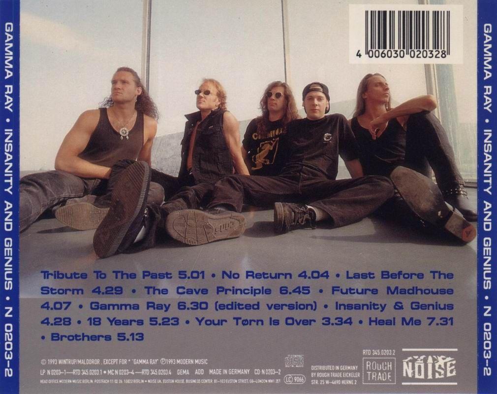 Gamma Ray - 1993 - Insanity And Genius b