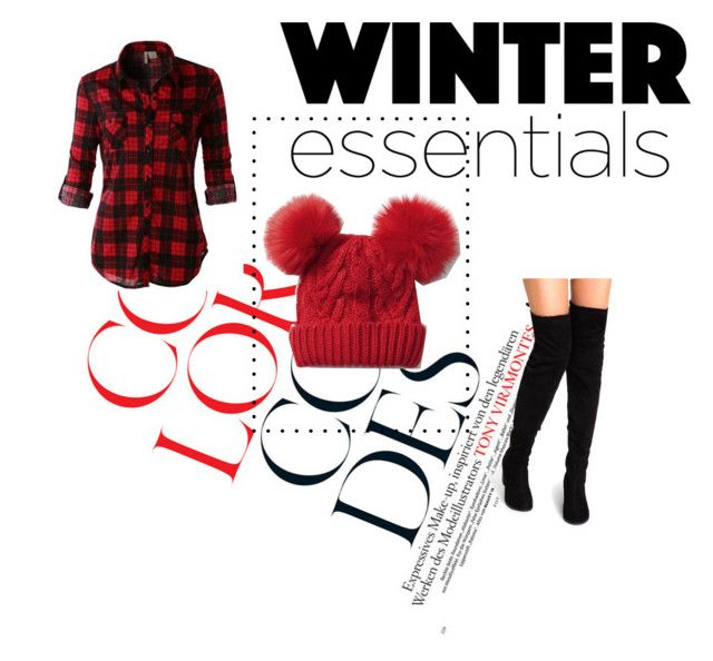 """""""My beanie"""" by imanimari ❤ liked on Polyvore featuring LE3NO, Gap, Boots, flannel and beanies"""